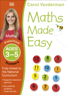 Maths Made Easy Numbers Ages 3-5 Preschool Key Stage 0, Paperback / softback Book