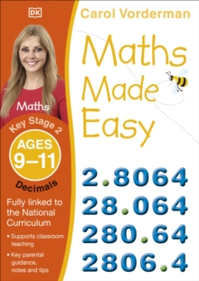 Maths Made Easy Decimals Ages 9-11 Key Stage 2, Paperback Book