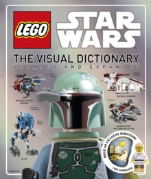 LEGO (R) Star Wars The Visual Dictionary : With Minifigure, Hardback Book