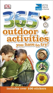 RSPB 365 Outdoor Activities You Have to Try, Paperback / softback Book