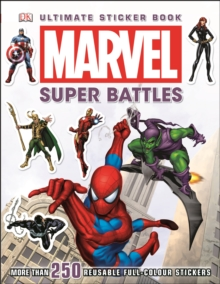 Marvel Super Battles Ultimate Sticker Book, Paperback Book