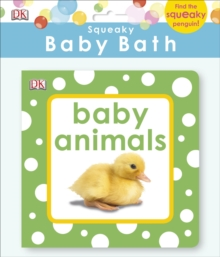 Squeaky Baby Bath Book Baby Animals, Bath book Book