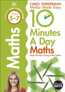 10 Minutes a Day Maths Ages 5-7, Paperback Book