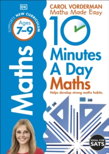 10 Minutes a Day Maths Ages 7-9, Paperback Book