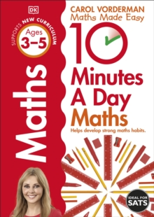 10 Minutes a Day Maths Ages 3-5 Key Stage 0, Paperback / softback Book