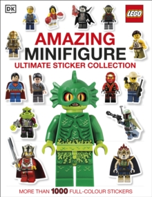 LEGO (R) Amazing Minifigure Ultimate Sticker Collection, Paperback Book