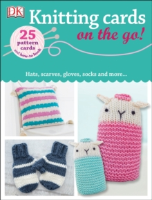 On the Go Knitting, Cards Book