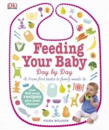 Feeding Your Baby Day by Day : From First Tastes to Family Meals, PDF eBook