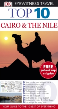 DK Eyewitness Top 10 Travel Guide: Cairo & the Nile, Paperback Book