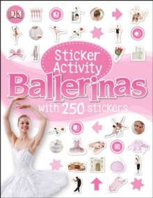 Sticker Activity Ballerinas, Paperback Book