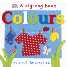 A Zig-Zag Book Colours, Board book Book
