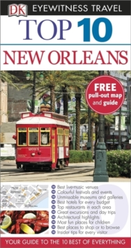 Top 10 New Orleans, Paperback Book