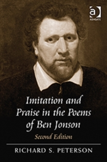 Imitation and Praise in the Poems of Ben Jonson, Hardback Book