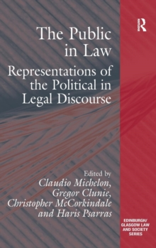 The Public in Law : Representations of the Political in Legal Discourse, Hardback Book