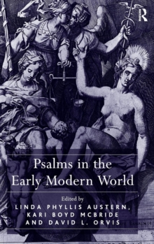 Psalms in the Early Modern World, Hardback Book