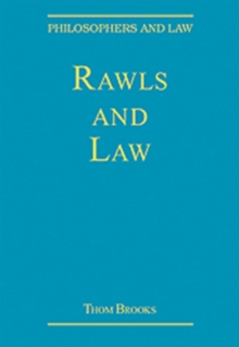 Rawls and Law, Hardback Book