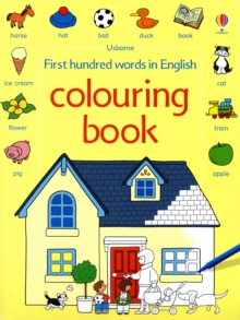 First 100 Words Colouring Book, Paperback Book