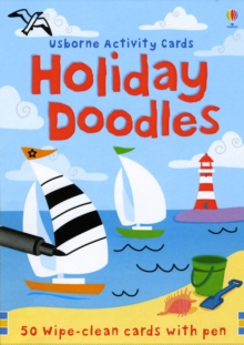 Holiday Doodles Activity Cards, Novelty book Book