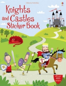 Knights and Castles Sticker Book, Paperback Book