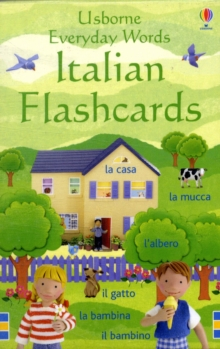 Everyday Words Italian Flashcards, Novelty book Book