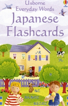 Everyday Words Flashcards: Japanese, Cards Book
