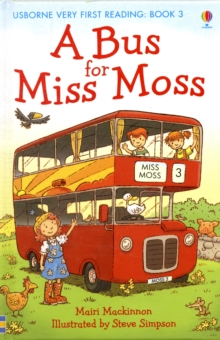 A Bus for Miss Moss, Hardback Book