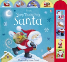 Noisy Touchy Feely Santa, Board book Book