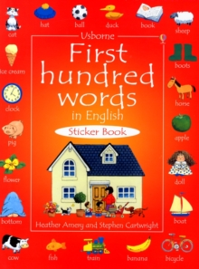 First Hundred Words In English Sticker Book, Paperback / softback Book