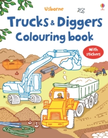Trucks and Diggers, Paperback Book