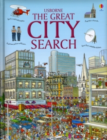 The Great City Search, Hardback Book