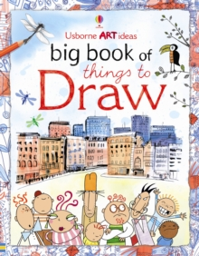 Big Book of Things to Draw, Spiral bound Book