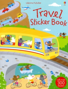 Travel Sticker Book, Paperback Book