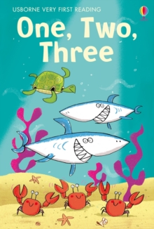 One, Two, Three Very First Reading Support Title, Hardback Book