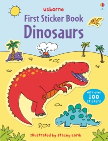 First Sticker Book : Dinosaurs, Paperback Book