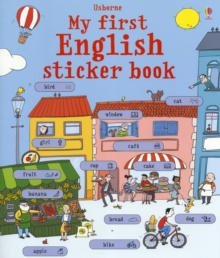 My First English Sticker Book, Paperback Book