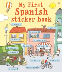 My First Spanish Sticker Book, Paperback Book