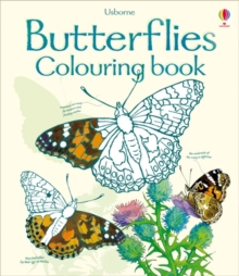 Butterflies to Colour, Paperback Book