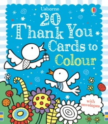 Twenty Thank You Cards to Colour, Cards Book