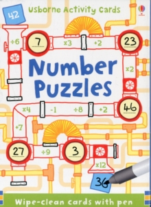 Number Puzzles, Cards Book