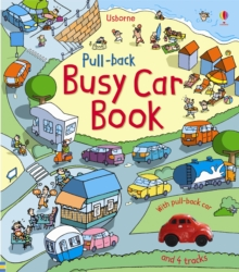 Pull-back Busy Car Book, Board book Book
