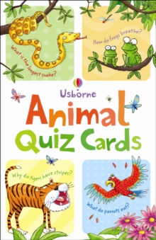 Animal Quiz, Cards Book