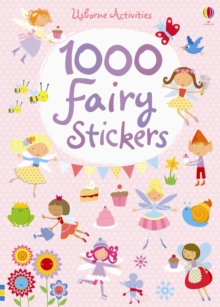 1000 Fairy Stickers, Paperback Book