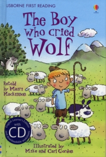 First Reading Three : The Boy Who Cried Wolf, Mixed media product Book