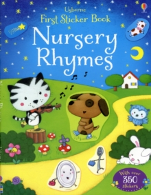 First Sticker Book Nursery Rhymes, Paperback Book