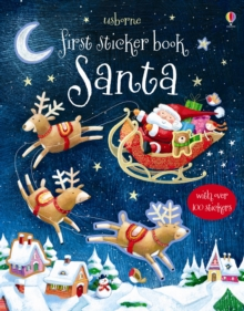 First Sticker Book : Santa, Paperback Book