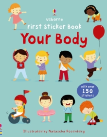 First Sticker Book Your Body, Paperback / softback Book