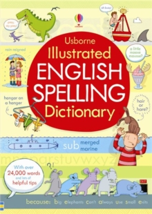 Illustrated English Spelling Dictionary, Paperback Book