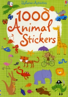 1000 Animal Stickers, Paperback Book