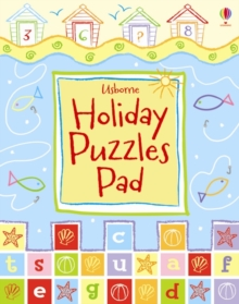 Usborne Holiday Puzzle Pad, Paperback Book