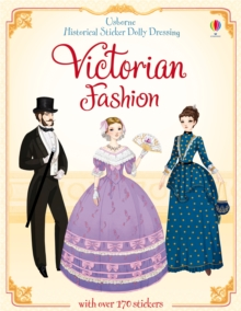 Sticker Dolly Dressing Historical Victorian Fashion, Paperback Book